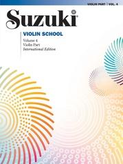 Suzuki Violin School, Volume 4