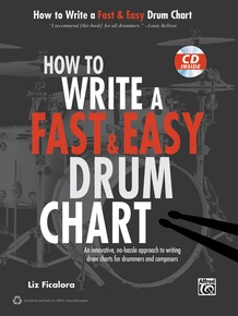 How to Write a Fast & Easy Drum Chart