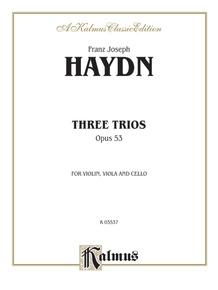 Three Trios, Opus 53