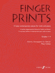 Fingerprints for Violin and Piano, Grade 1-4
