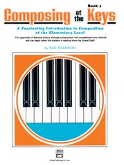 Composing Music at the Keys, Book 1