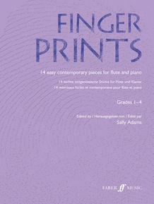 Fingerprints for Flute and Piano, Grade 1-4