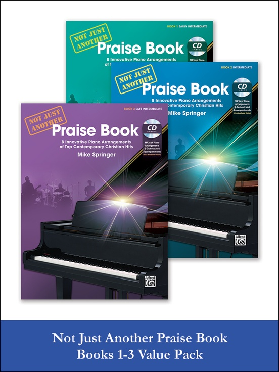 Not Just Another Praise Book 1-3 (Value Pack)