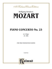 Piano Concerto No. 23 in A, K. 488