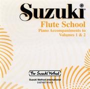 Suzuki Flute School CD, Volume 1 & 2 Piano Acc.