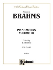 Piano Works, Volume III (2 Concertos, Paganini Variations & Waltzes)