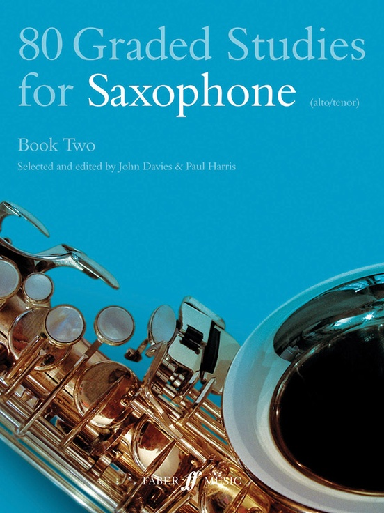 80 Graded Studies for Saxophone, Book Two