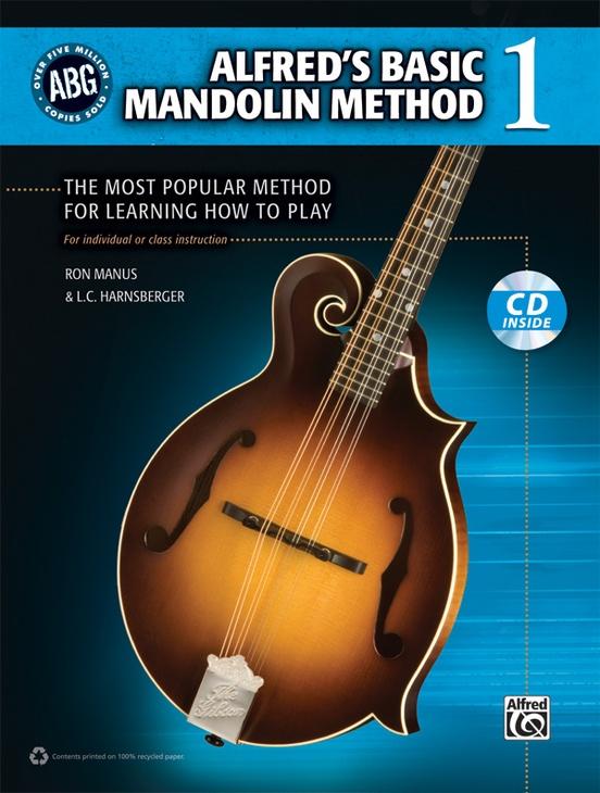 Alfreds Basic Mandolin Method 1 Mandolin Book Cd