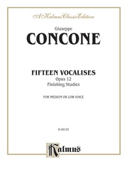 Fifteen Vocalises, Opus 12 (Finishing Studies)