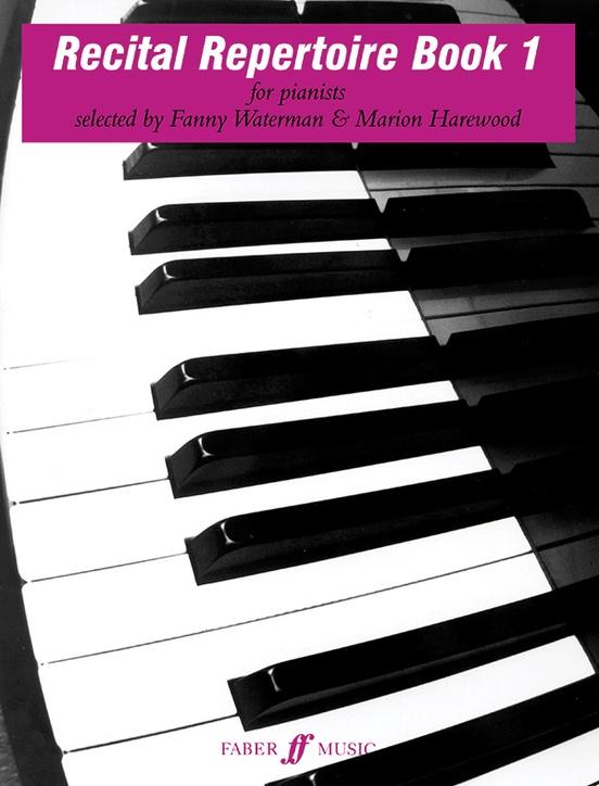 Recital Repertoire, Book 1