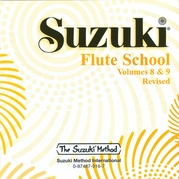 Suzuki Flute School CD, Volume 8 & 9 (Revised)