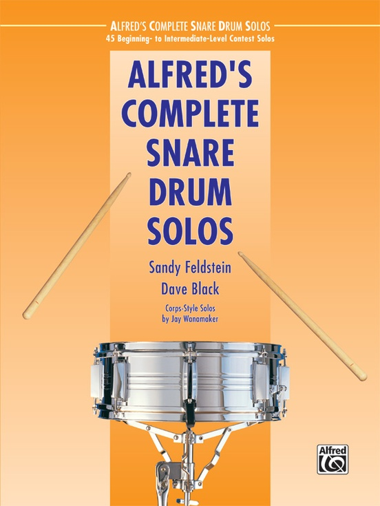 Alfred's Complete Snare Drum Solos