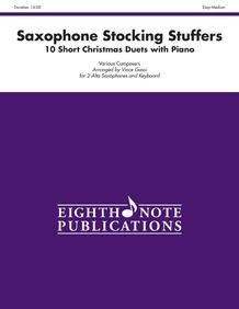 Stocking Stuffers for Alto Saxophone