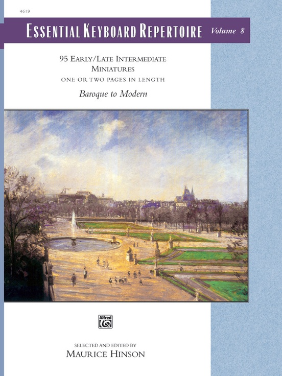 Essential Keyboard Repertoire, Volume 8 (Miniatures)