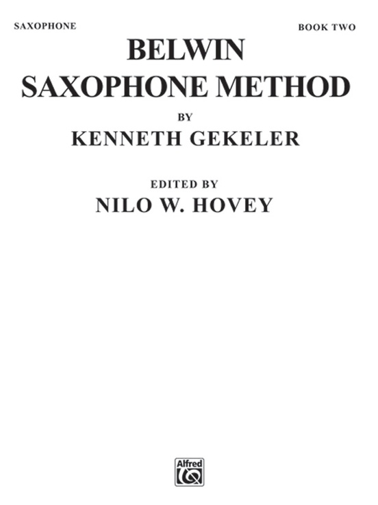 Belwin Saxophone Method, Book II