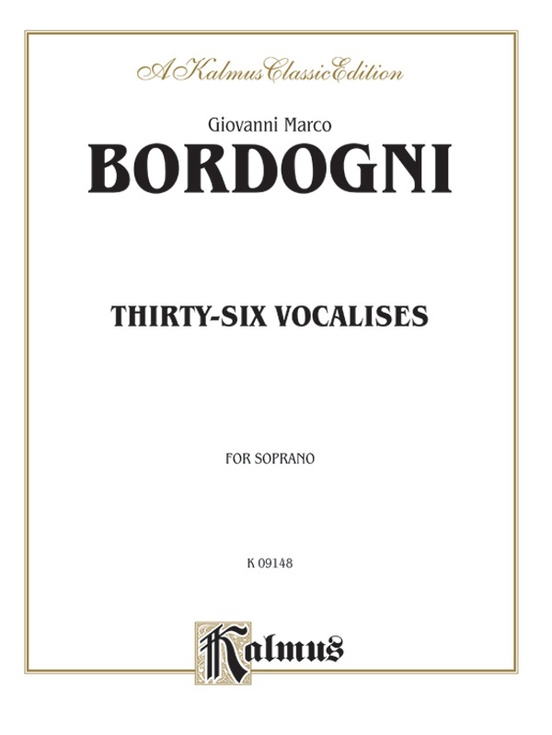 Thirty-Six Vocalises in Modern Style (Spicker)