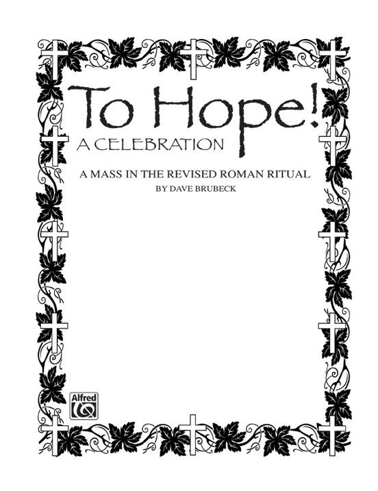 To Hope! (A Celebration)