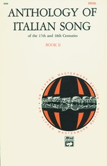 Anthology of Italian Songs of the 17th and 18th Centuries, Book 2