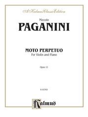 Moto Perpetuo, Opus 11