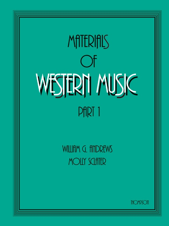 Materials of Western Music
