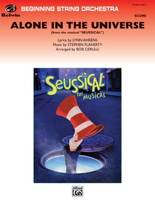 Alone in the Universe (from <i>Seussical the Musical</i>)