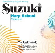 Suzuki Harp School CD, Volume 4