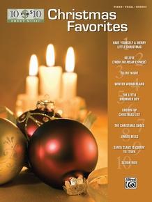10 for 10 Sheet Music: Christmas Favorites