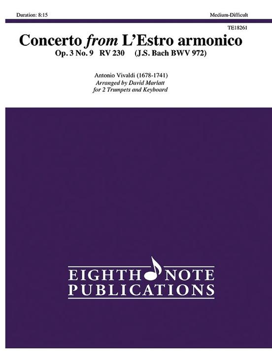 Concerto from L'Estro armonico, Op. 3, No. 9