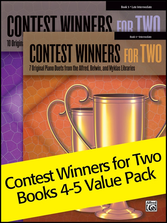 Contest Winners for Two 4-5 (Value Pack)