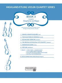 Highland/Etling Violin Quartet Series: Book 3