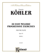 Twenty Easy Melodic Progressive Exercises, Opus 93, Book II