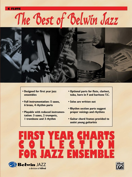Best Of Belwin Jazz First Year Charts Collection For Ensemble