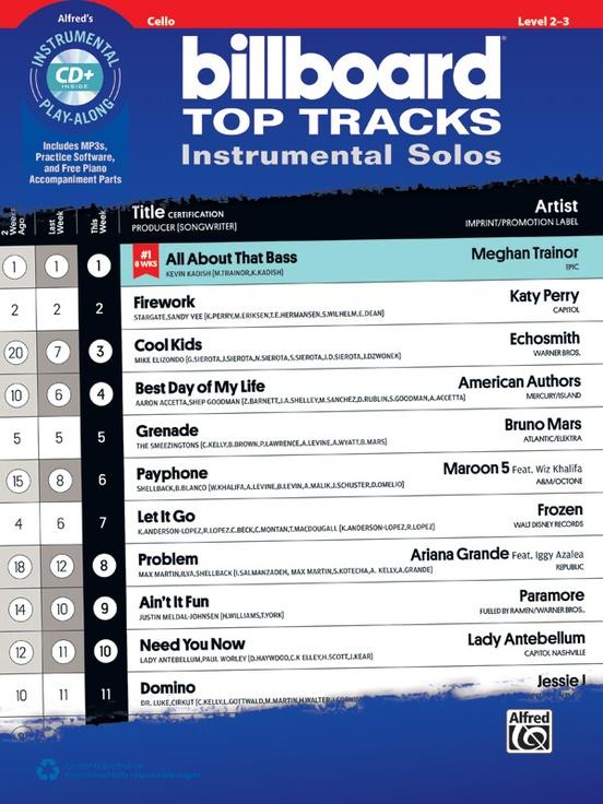 ビルボード・トップ・トラックス(チェロ)【Billboard Top Tracks】