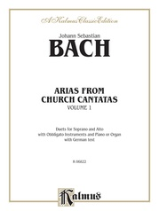 Arias from Church Cantatas, Volume I