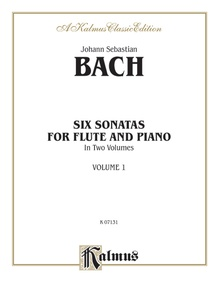 Six Sonatas, Volume I (BWV 1030-1032)