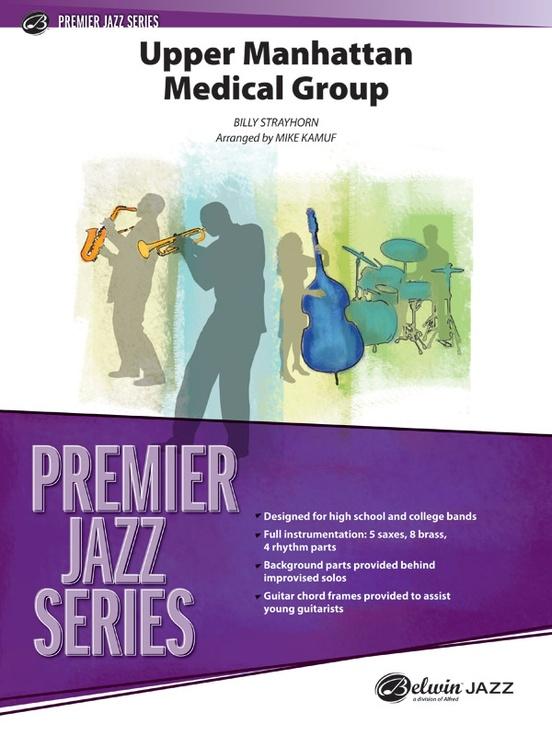 Upper Manhattan Medical Group Jazz Ensemble Conductor Score Parts