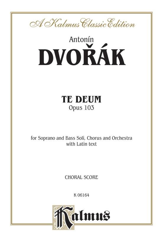 Te Deum, Opus 103
