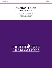 """""""Cello"""" Etude, Opus 25, No. 7"""