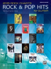 2015 Rock Charts: Rock & Pop Hits for Guitar