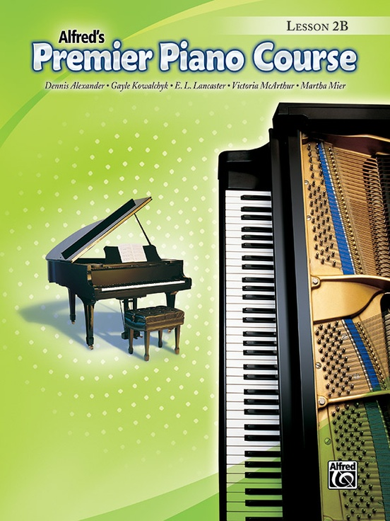 Premier Piano Course, Lesson 2B