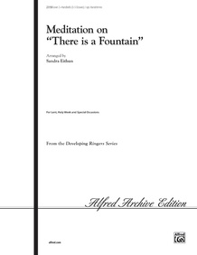 "Meditation on ""There Is a Fountain"""
