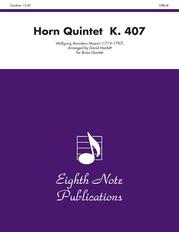 Horn Quintet, K. 407