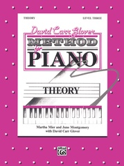 David Carr Glover Method for Piano: Theory, Level 3