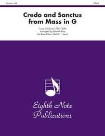 Credo and Sanctus (from <i>Mass in G</i>)