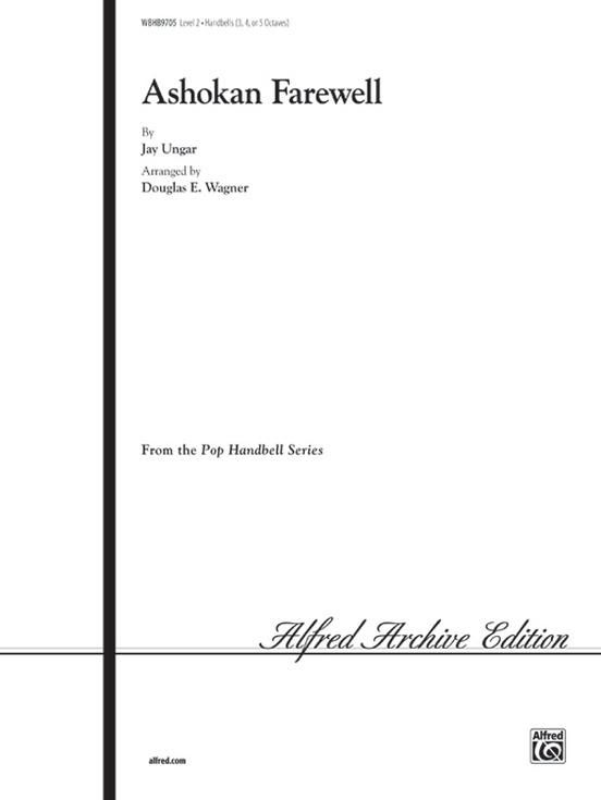 Ashokan Farewell From The Civil War Handbells 3 5 Octaves Sheet