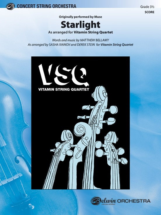 Starlight: String Orchestra Conductor Score & Parts: Vitamin String ...