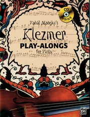Vahid Matejko's Klezmer Play-Alongs for Violin