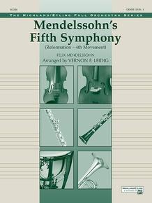 "Mendelssohn's 5th Symphony ""Reformation,"" 4th Movement"
