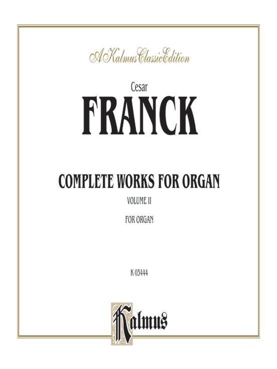 Organ Works, Volume II