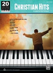 20 Sheet Music Bestsellers: Christian Hits